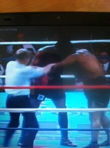 boxing clinch