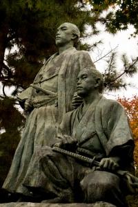 two japanese samari
